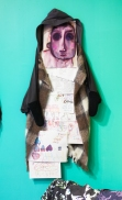 my work as collage with bess garment